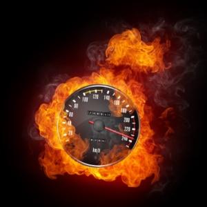 Hohes Bußgeld für eine Geschwindigkeitsüberschreitung