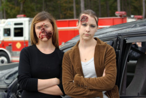 Personenschaden bei einem Fahrradunfall