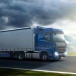 LKW-Geschwindigkeit ist abhängig von der Art der befahrenen Straße