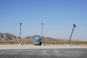 Eine Überladung bei einem LKW kann zu einem Fahrverbot führen.