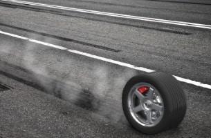 Reifen: Der Radialreifen besitzt ein stabiles Stahldrahtgewebe.
