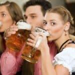 Nach Genuss von Alkohol Fahrrad fahren