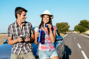 Wer in den Urlaub fährt, fährt weite Strecken auf der Autobahn