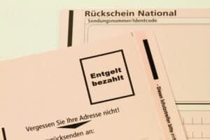 Die Punkte in Flensburg können Sie auch per Post abfragen