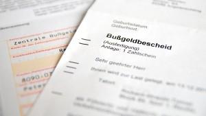 Sie können den Bußgeldbescheid prüfen, wenn Sie die Frist von zwei Wochen nach Zustellung einhalten.