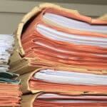 Während der Akteneinsicht können Sie sich eigene Abschriften oder Notizen dazu machen.
