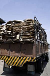 In Deutschland funktioniert die Mülltrennung für das Papier-Recycling sehr gut.