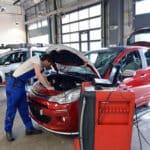 Die Abtretung der Reparaturkosten wird durch eine Abtretungserklärung an die Versicherung weitergeleitet.