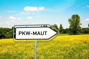 Mautpflichtige Straßen in Tschechien sind durch ein entsprechendes Verkehrsschild gekennzeichnet.
