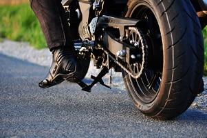 Ein Wunschkennzeichen für das Motorrad ist auch erhältlich.