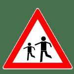 Zeichen 136: Kinder