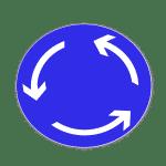 Zeichen 215: Kreisverkehr