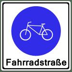 Zeichen 244-1: Fahrradstraße