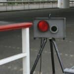 Im Gegensatz zum Radar (im Bild) oder Laser, funktioniert die Geschwindigkeitsmessung mit Lichtschranke per Weg-Zeit-Prinzip.