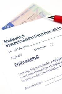 MPU-Begutachtungsstellen weisen die Fahreignung der Untersuchten nach.