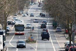 Das Messgerät Traffipatrol kann auf Autobahnen und im Stadtverkehr eingesetzt werden.