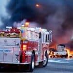 Brandschutz: Feuerlöscher im Bus sollen dabei helfen, Brände nach einem Unfall sofort zu bekämpfen.