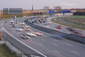 Häufig wird das VIDIT-Verkehrskontrollsystem zur Abstandsmessung eingesetzt.