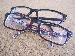 Neben den Fahrhilfen kann auch eine Brille helfen, mobil mit Behinderung zu sein.