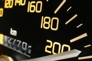 Richtgeschwindigkeit auf einer Landstraße ist eher unüblich.