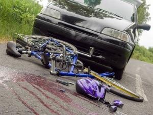 Die Radfahrprüfung kann dazu beitragen, das Unfallrisiko zu minimieren.