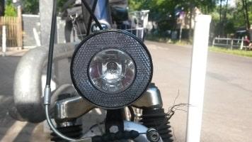Ohne Reflektoren und Lampen ist es kein verkehrstüchtiges Fahrrad.