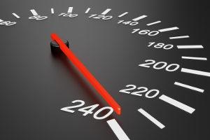 Geschwindigkeitskontrolle: Welche Strafe droht, hängt von verschiedenen Faktoren ab.