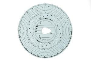 Funktioniert noch mit einer Papierscheibe: ein analoger Tachograph.