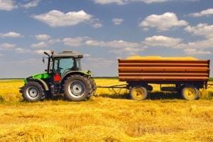 Selbstfahrende Arbeitsmaschine: Ein Fahrtenschreiber ist für die Arbeit auf dem Feld nicht notwendig.
