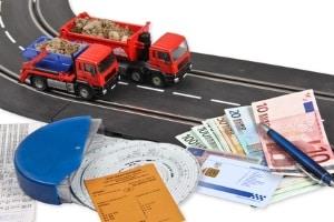 Fahrerkarte erneuern: Die Kosten müssen Fahrer in Deutschland selbst tragen.