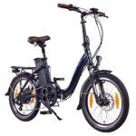 E-Bike-Klapprad mit Mittelmotor