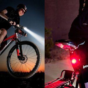 Sicherheit im Dunkeln mit Fahrradbeleuchtung