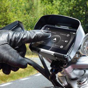 motorrad navigationsgerät mit touch