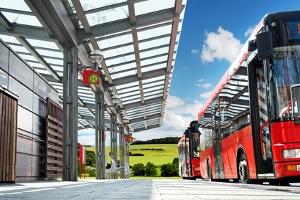 Straßenverkehrsordnung: Die Busspur darf nur von Linienbussen befahren werden.