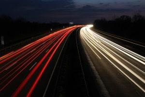 England: Auf der Autobahn gilt ein Tempolimit von 70 mph (112 km/h).