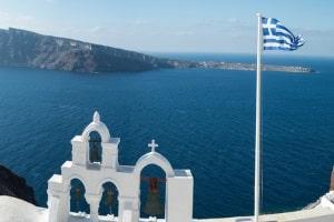 Auch in Griechenland sind die Verkehrsregeln zu beachten.