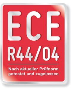 kindersitz mit ECE-Siegel