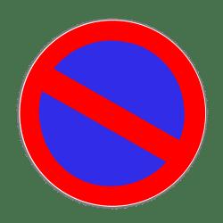 Eingeschränktes Halteverbot: Das Verkehrszeichen trägt die Nummer 286.