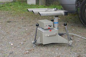 Beispiele für mobile Blitzer-Typen sind Radar- und Lasergeräte.