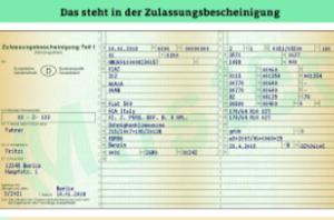 Wenn Sie die Betriebserlaubnis beantragen, müssen Sie genaue Angaben zum Kfz und zum Halter machen.