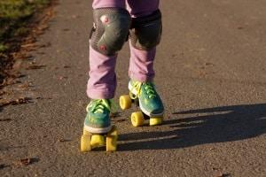 Ein verkehrsberuhigter Bereich dient dem Schutz spielender Kinder.