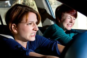 Verhalten bei Wildwechsel: Stark bremsen und gefährliche Ausweichmanöver vermeiden.