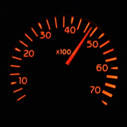 Punkte für eine Geschwindigkeitsübertretung werden ab 20 km/h zu viel verhängt.