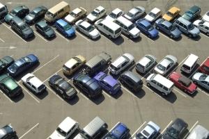 """Der """"Strafzettel"""" für unbefugtes Parken auf einem Privatparkplatz wird vom Betreiber ausgestellt."""