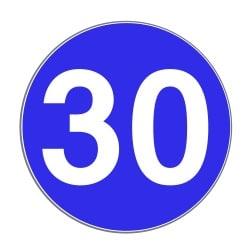 Mindestgeschwindigkeit in Deutschland: Auf der Autobahn legt gemäß StVO nur Zeichen 275 eine solche fest.
