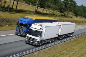 Das Fahrsicherheitstraining mit Anhänger kann auch mit einem LKW absolviert werden.
