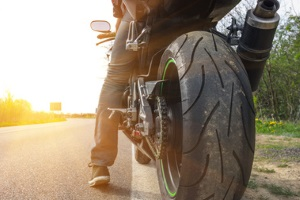 Ein Fahrsicherheitstraining mit dem Motorrad kann Unsicherheiten abbauen.