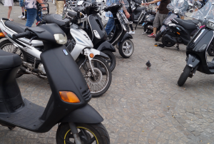 Eine LED-Beleuchtung ist am Motorrad nicht grundsätzlich untersagt.