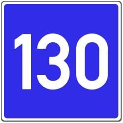 Es gibt keine Mindest- oder Richtgeschwindigkeit auf der Landstraße.