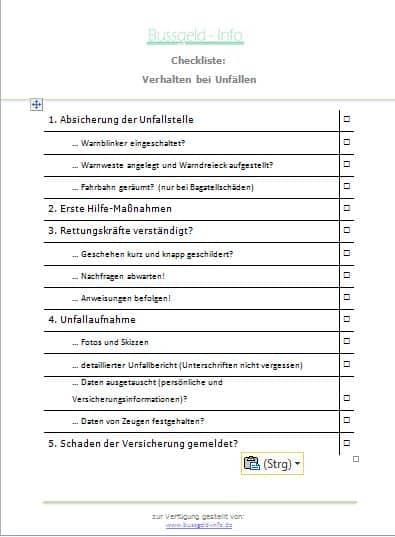 unfallbericht-bussgeld-info